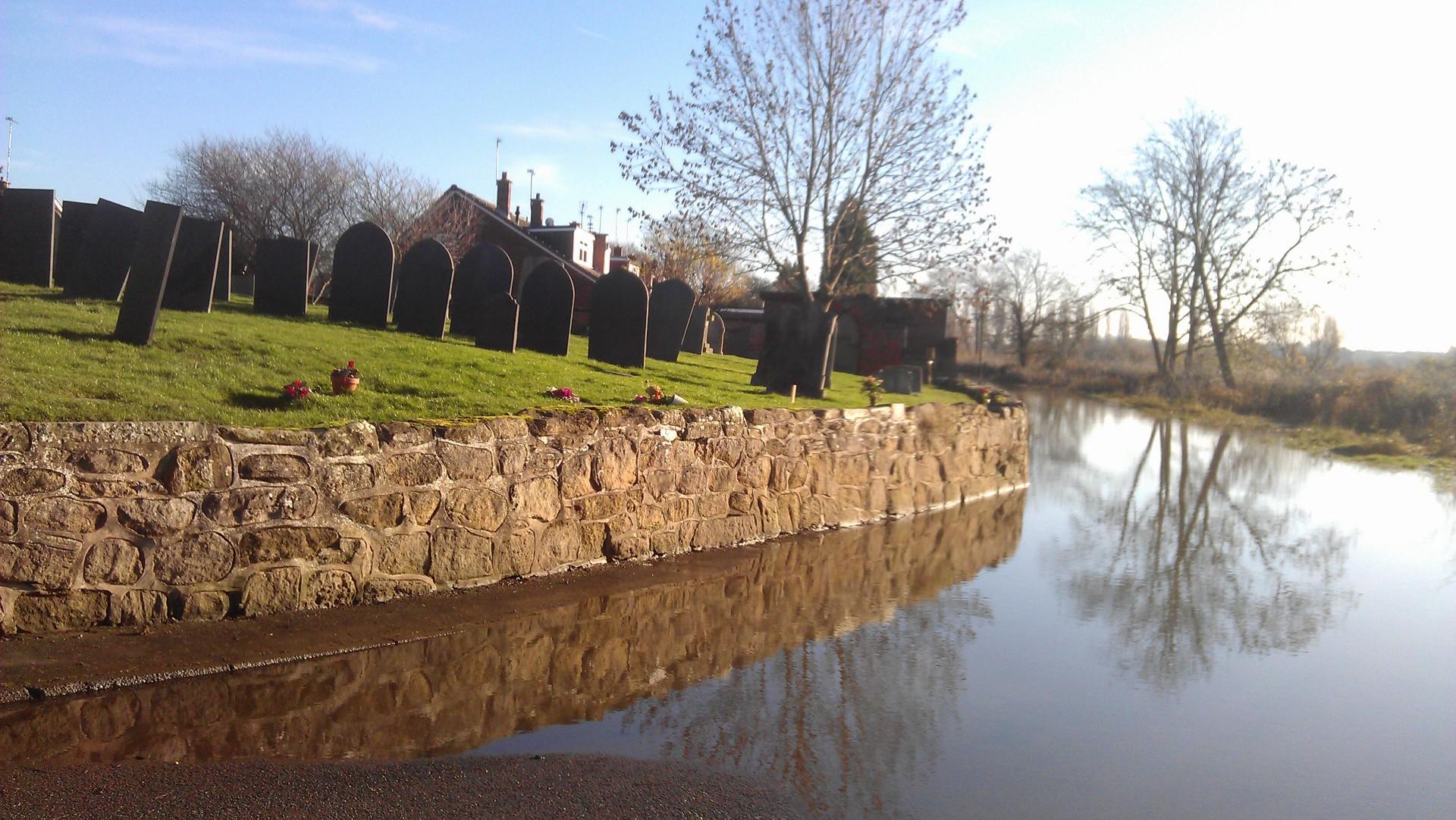 Flooding near River Trent