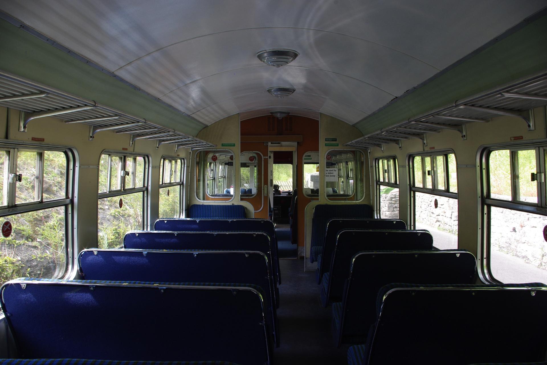 Restored Diesel Railcar