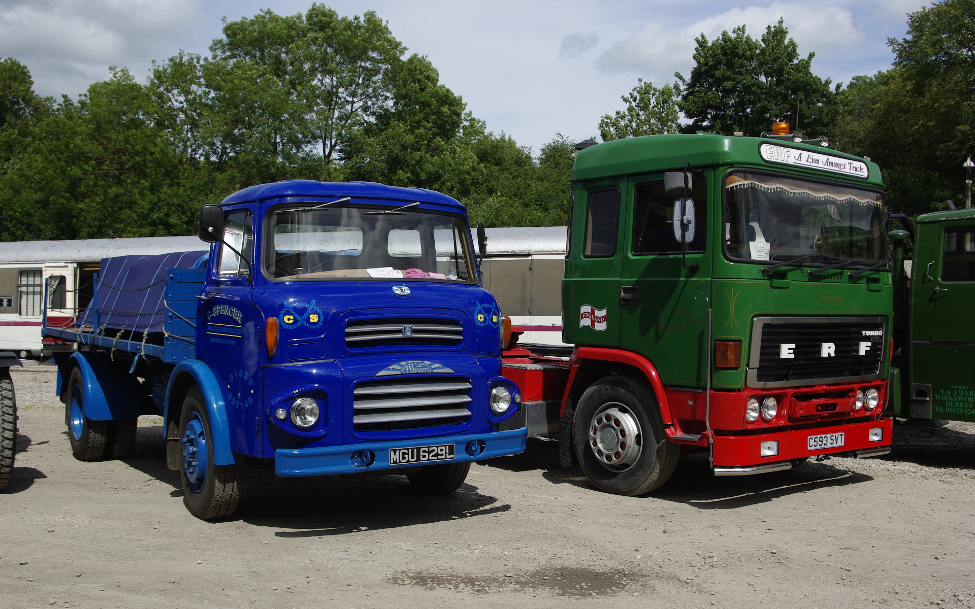 Trucks of Yesteryear