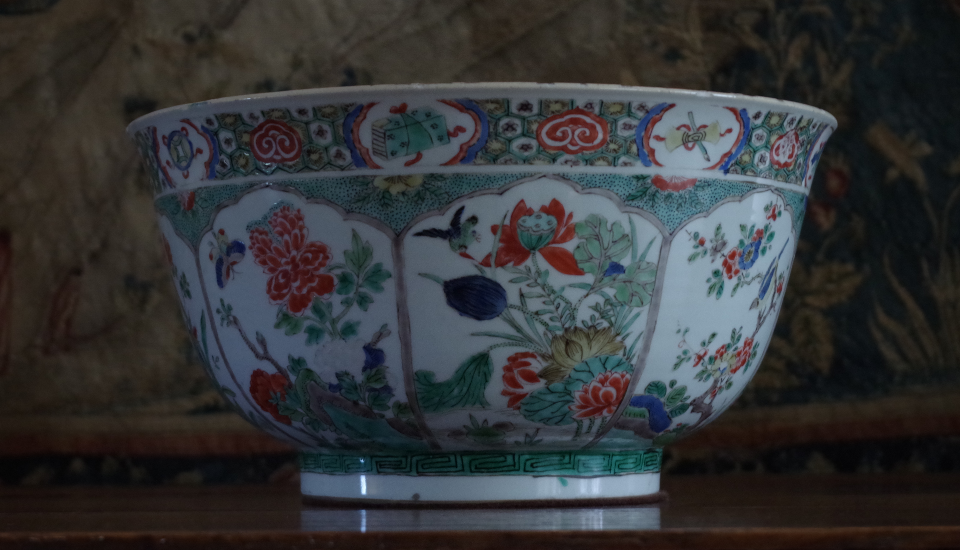 Porcelain Bowl at Montacute