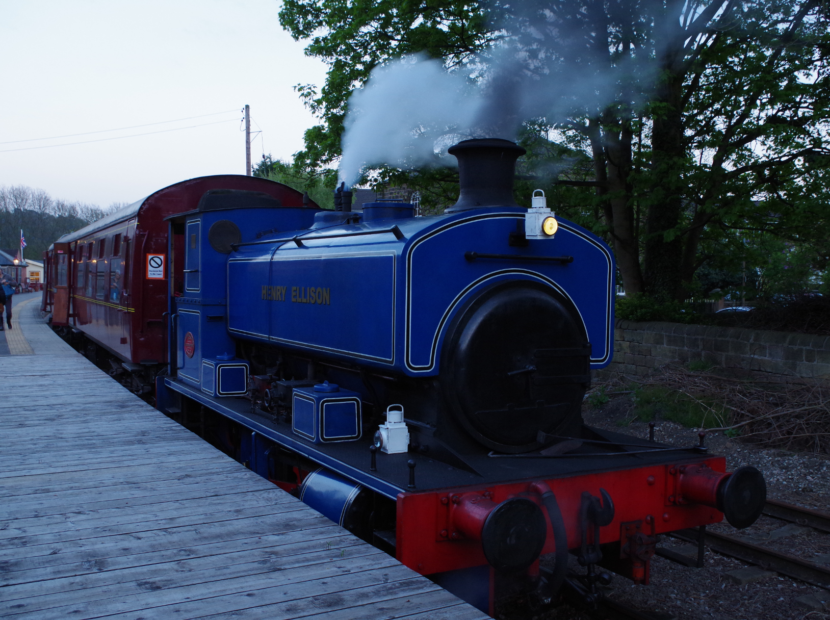 Small Steam Locomotive