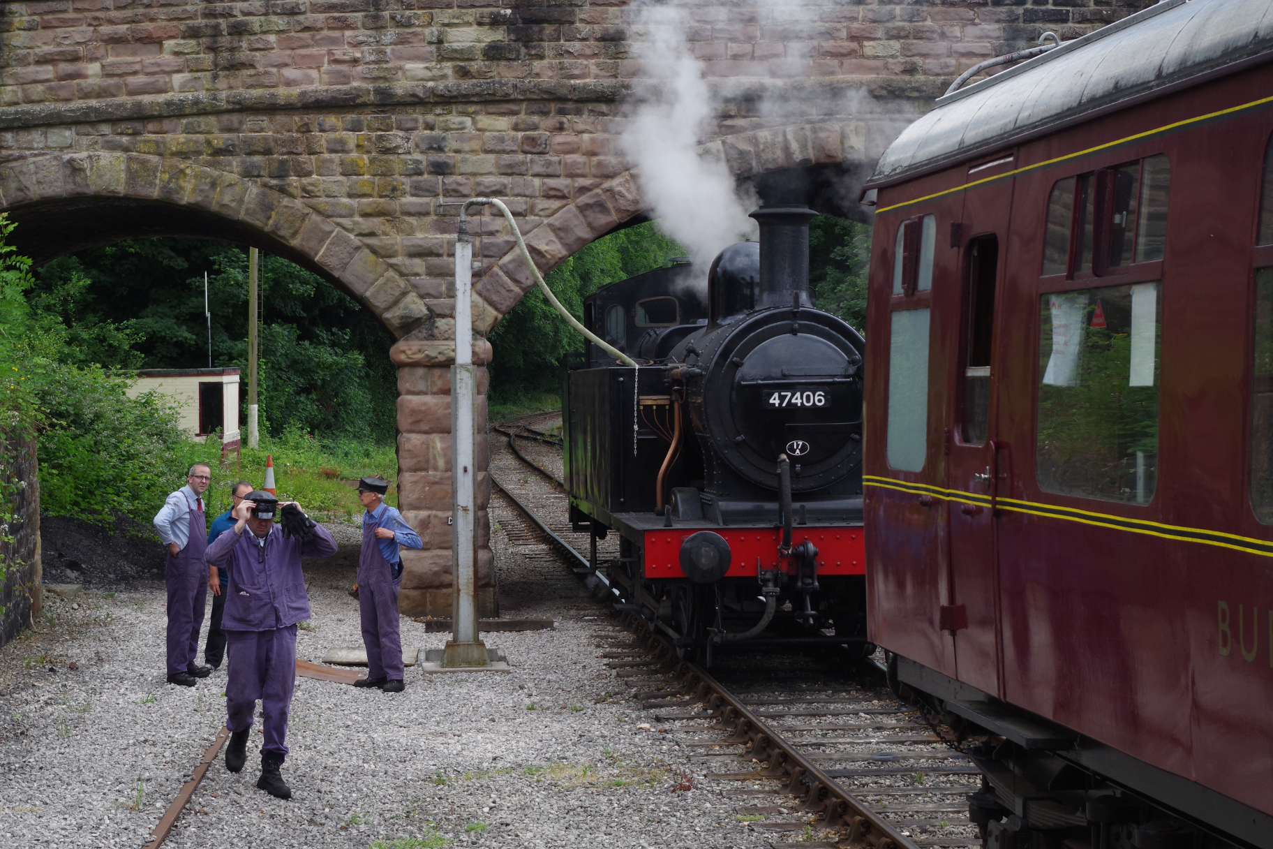 Steam at Wirksworth
